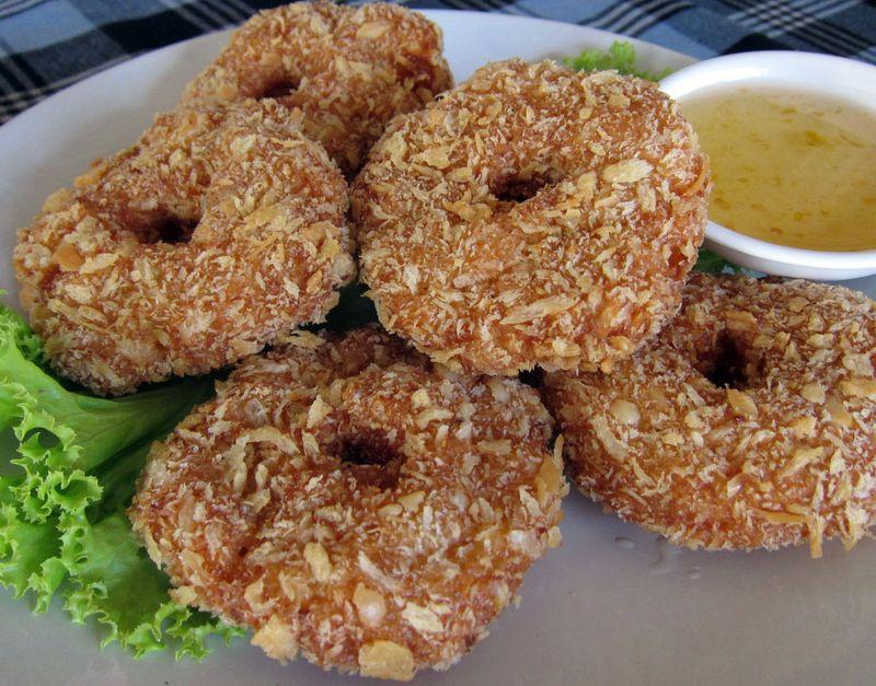 Shrimp donuts