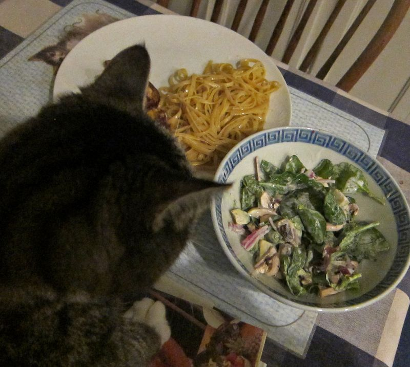 Mrlucky dinner