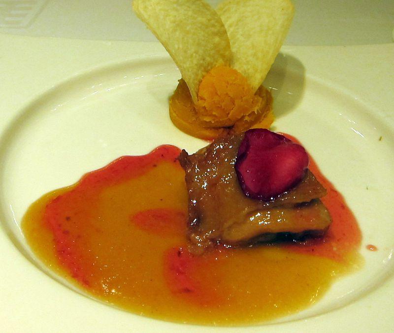 Rose petal chicken 2