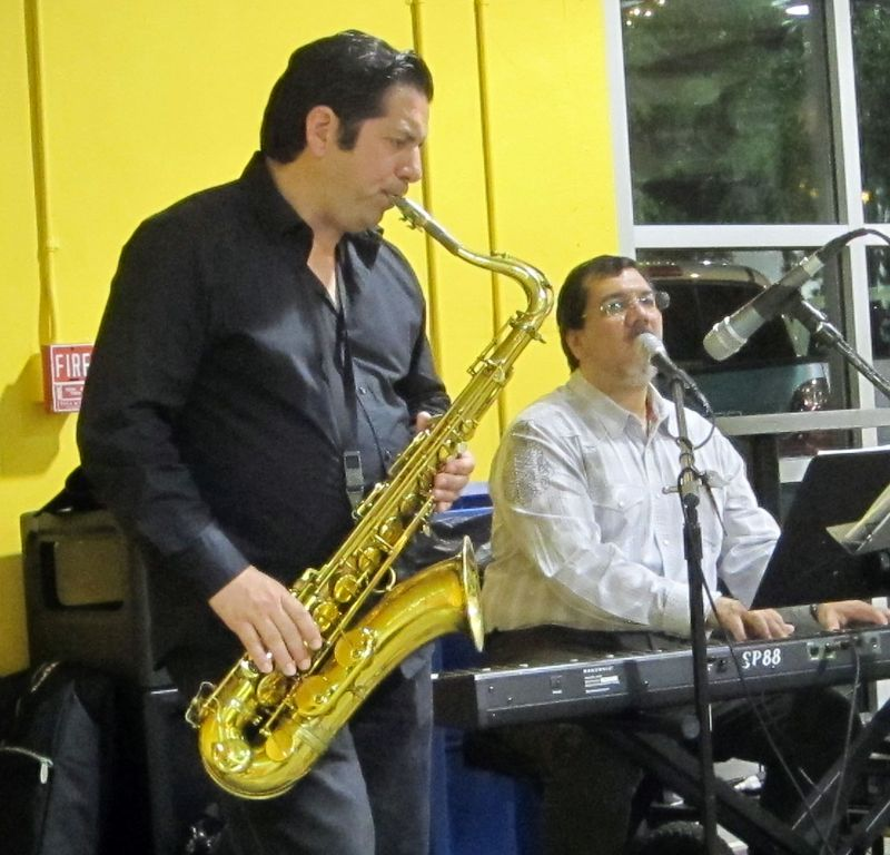 Bill and sax