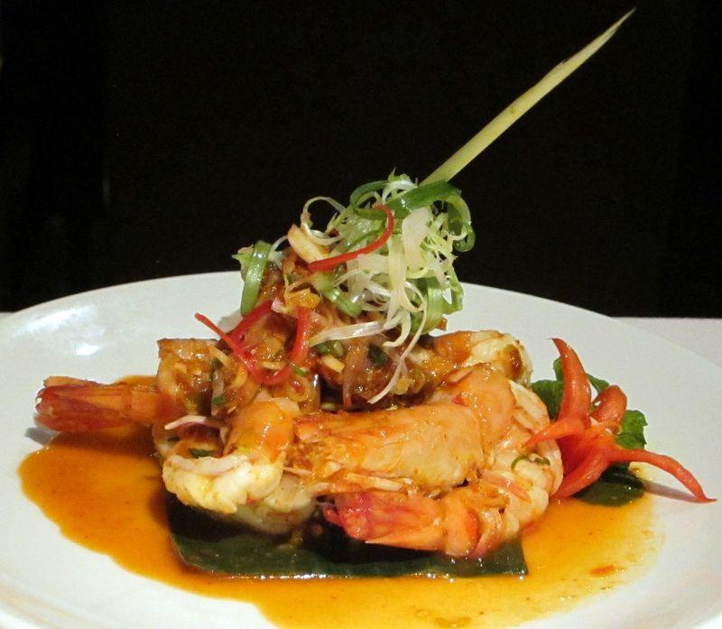 Lemongrass shrimp