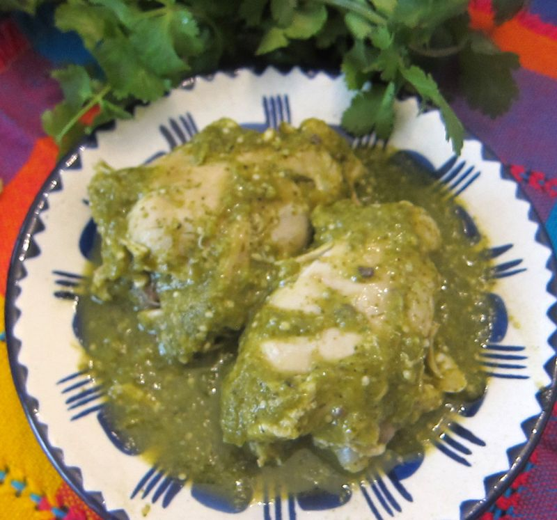 Cilantro chicken 2