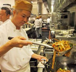 Chef,wok