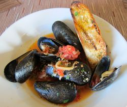 BLD mussels