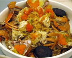 Crab casserole
