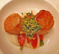 Olives scallops3