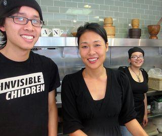 Nattha and staff
