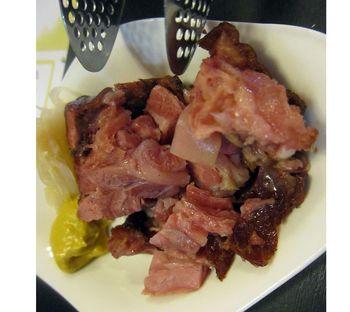 Ham closeup 2