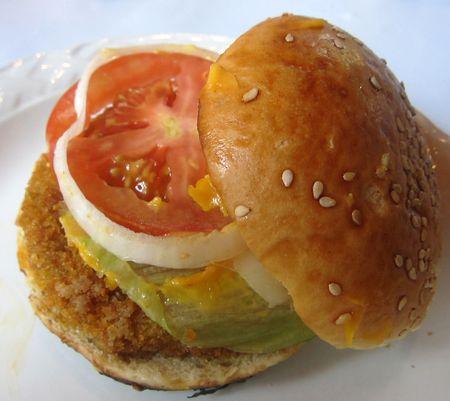 Eggplant hamburger