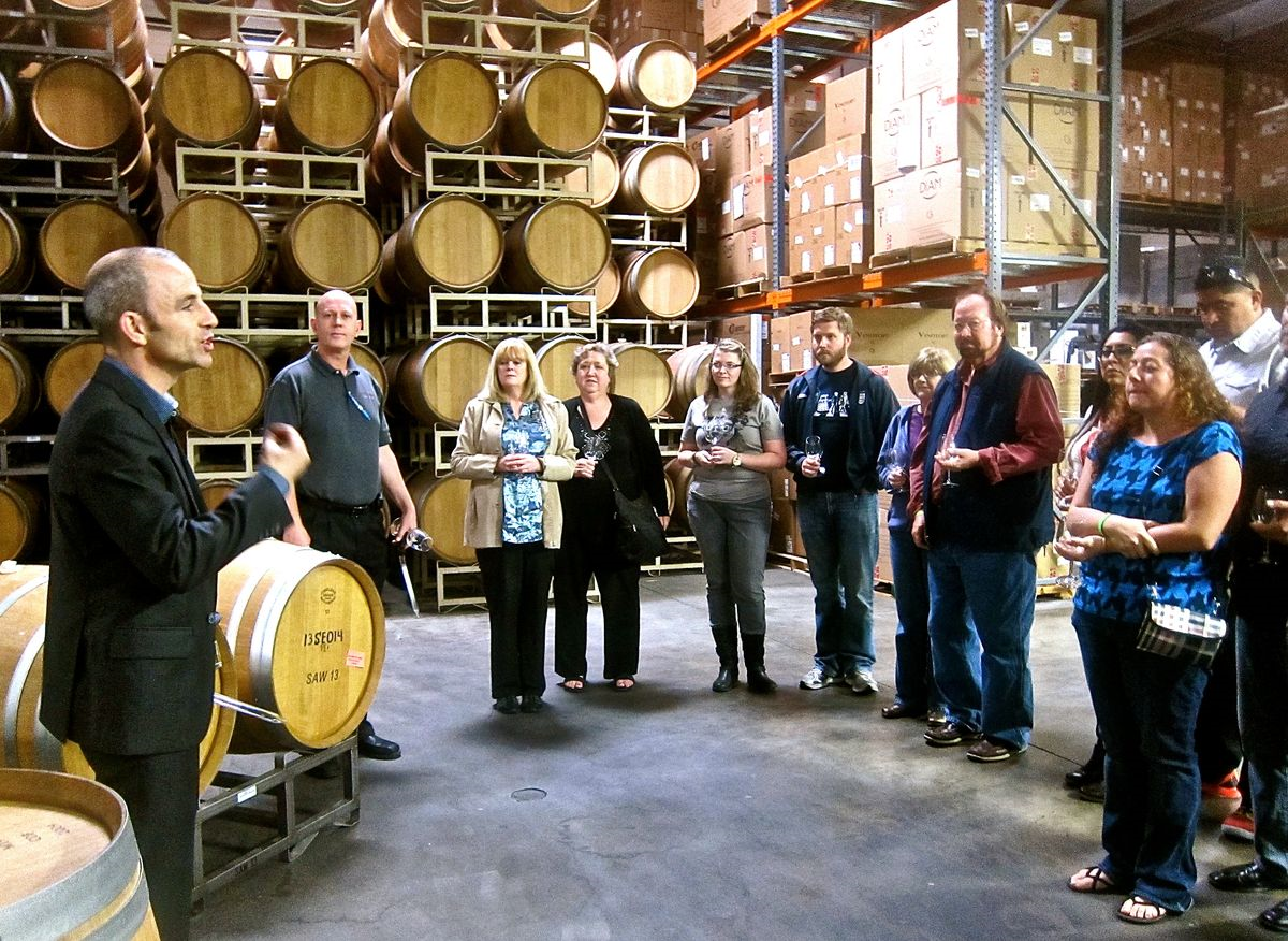 If You Ve Been To San Antonio Winery In Downtown Los Angeles Perhaps It Was Just Attend A Company Party Birthday Lunch Or Wedding Reception I Saw