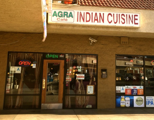 Agra Cafe Indian Cuisine Los Angeles Ca