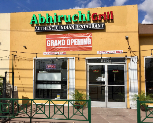Restaurants indian for Annapurna cuisine culver city