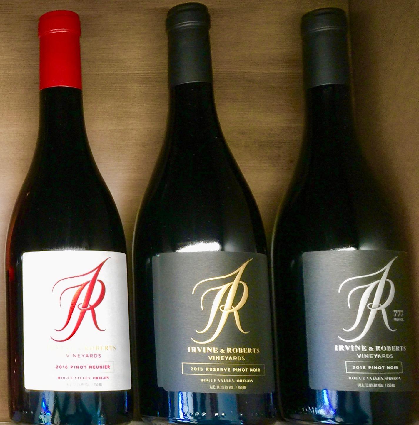 Tasting the Wines of Irvine & Roberts - TableConversation com